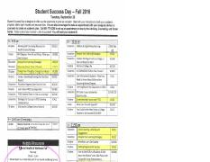 HIGHLIGHTED SSD SESSIONS FOR EXTRA CREDIT