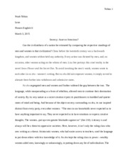 Snow Flower Essay