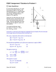 Assignment 07_12 #1-3 Solutions