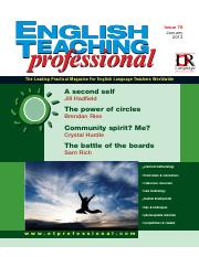 English Teaching Professional Magazine 78