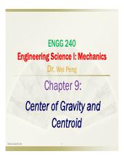 Chapter 9  Gravity Center