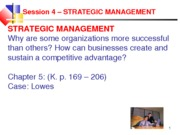 A.Session 4 Strategic Management.W11