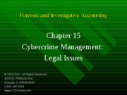4Ed_CCH_Forensic_Investigative_Accounting_Ch15