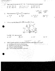 Factoring and Finding Angles Review