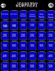 Jeopardy HDFS 3301 Final PART TWO-1