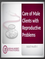 6.5 Care_of_Male_Clients_with_Reproductive_Problems.pptx