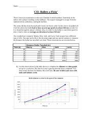 Speed_and_Acceleration-CSI_worksheet_-_KEY - Name CSI Bullets a ...