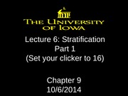 Lecture 6 - Stratification - Part 1 (1)