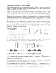 Notes on Control Systems 03
