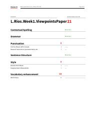L.Rios.Week1.Assignment.Individual.ViewpointsPaper