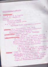 Methology and Statistics Notes