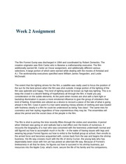 eng 430 ( Week 2 Assignment)