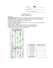 Fall 2015 2A Exam 1 Key