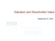 lecture1-Valuation_and_shareholder_value