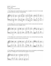 MUSC 115 - Leading-Tone Seventh Chords