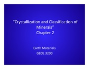 LECTURES Lec03_Ch2_Crystallization