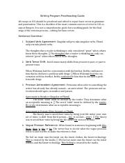 Writing Program Proofreading Guide.doc