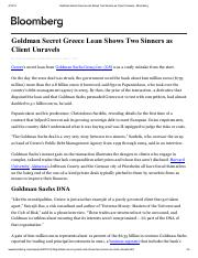 Goldman Secret Greece Loan Shows Two Sinners as Client Unravels - Bloomberg.pdf