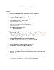 (www.entrance-exam.net)-BPUT B.Tech First Semester Exam, Communicative English Sample Paper 3