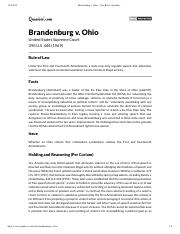 Brandenburg v. Ohio - Case Brief - Quimbee.pdf