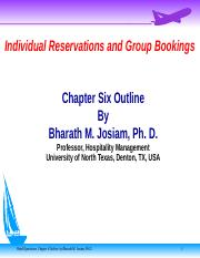 Hot Ops Ch 06 9th ed Reservations.ppt