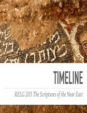 RELG 203 lecture 1. Timeline of the Scriptures of the Near East.pdf