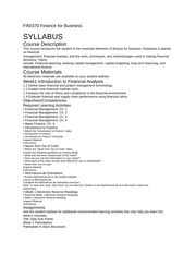fin 5401 2014 syllabus Emergency response recommendations university of illinois at urbana-champaign fin 423 financing emerging business fall 2014 syllabus george krueger phone: 217.