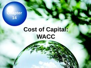 Corporate Finance Chapter 14_WACC