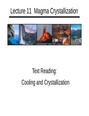Lecture 11 Magma Crystallization Handout.pptx