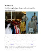 Bloomberg-Mannequins Observational Research-11 21 2012