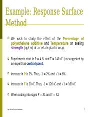 Response Surface Method example.ppt