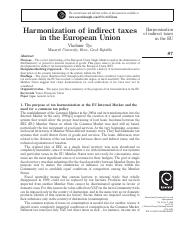 Harmonization of indirect taxes in the European Union.pdf