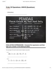 ✅ Order Of Operations_ HW #5 (30 Questions).pdf