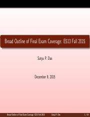 E513-2015Fall-Final-Review