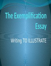 Chapter 5,Exemplification Essay(sem1).pptx