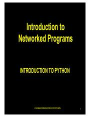 `lecture07_Networked Programming via Python.pdf