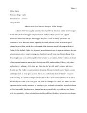 a raisin in the sun essay notes kate brady mrs  6 pages raisin in the sun character analysis