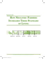 2 How Neolithic Farmers Increased Their Standard of Living