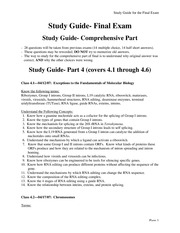 Study Guide IV