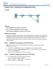 11.4.2.5 Packet Tracer - Backing Up Configuration Files Instructions.docx