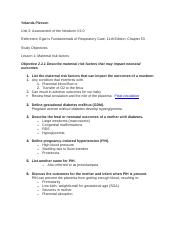 RSPT2353 exam 2 study guide unit IIobjectives.docx