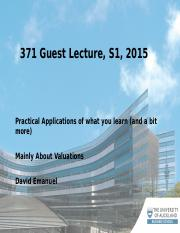 ACCTG 371 Guest Lecture 2015FC
