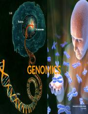 Genomics-Establishnemt of PGP