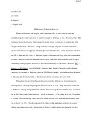 Hill_House_Essay