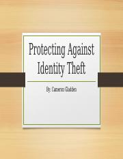 Protecting Against Identity Theft.pptx