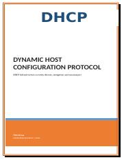 DHCP communication.docx