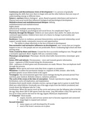 Human Growth and Develpment study sheet