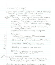 COMM100- Mark Knapp Notes