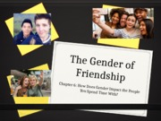 Chapter 6 The Gender of Friendship f2015