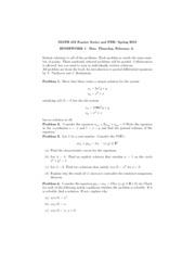 strauss pde homework solutions